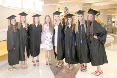 Graduation smiles